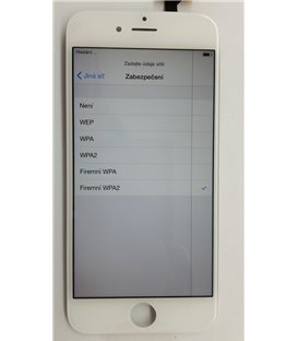 II. jakost - Apple iPhone 6 - Kompletní LCD displej, Bílý, Originální repasovaný