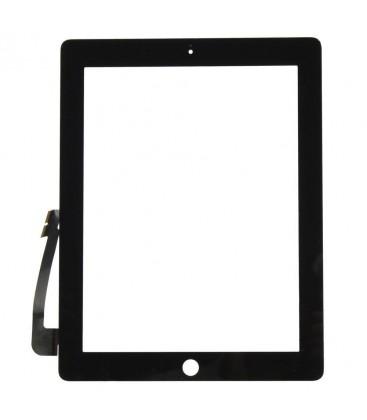 Apple iPad 3 / 4 - Dotyková plocha se sklem, Černá