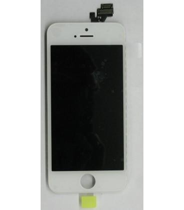 Apple iPhone 5 - Kompletní LCD displej, Bílý, Originální repasovaný