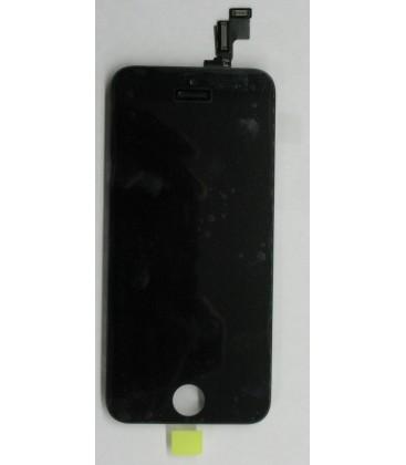 Apple iPhone 5C - Kompletní LCD displej, Černý, Originální repasovaný