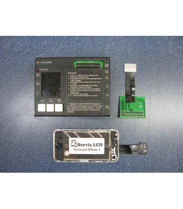 II. jakost - Apple iPhone 4 - Kompletní LCD displej, Černý, Originální repasovaný