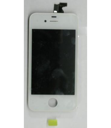 II. jakost - Apple iPhone 4 - Kompletní LCD displej, Bílý, Originální repasovaný