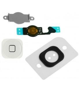 Apple iPhone 5 - Kompletní Home button, Bílý