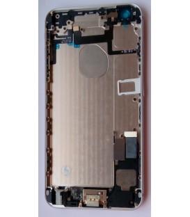 Apple iPhone 6 Plus - kompletně osazený zadní / střední hliníkový rám, bílý