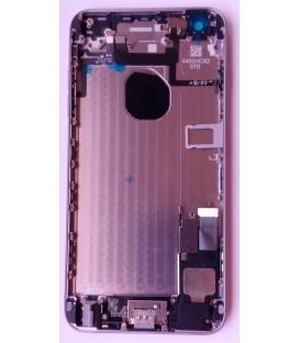Apple iPhone 6 Plus - kompletně osazený zadní / střední hliníkový rám, černý