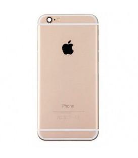 Apple iPhone 6 - Zadní / střední hliníkový rám bez komponent, zlatý