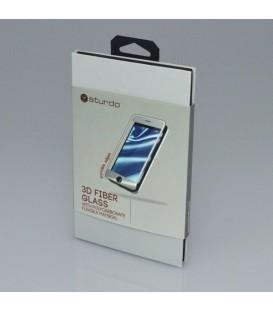 Apple iPhone 6 / 6S - Tvrzené sklo, 3D Fiber, Bílý